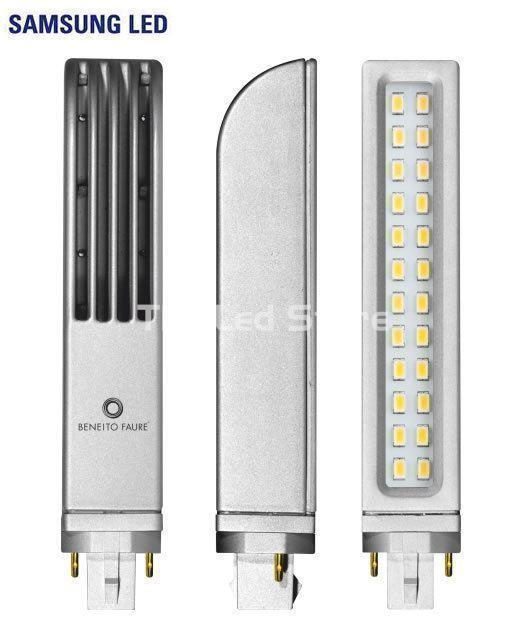 Lampara Led Beneito & Faure - Tipo PL 8W G24D-2 3000K - Imagen 1