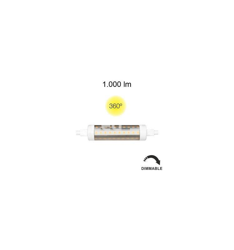 LINEAL TUBULAR 9W R7S 118MM 220V 360º DIMMABLE LED de Beneito Faur