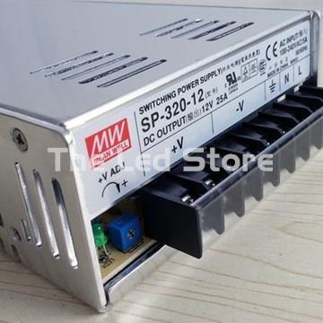 MEAN WELL SP-320-12  300W, 12V dc, Corriente 25A - Imagen 1