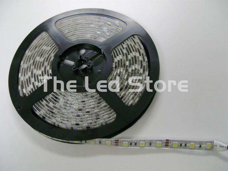 Rollo de Tira Led 5 Mts RGB 300 Led SMD5050 (60xMetro). IP68 24V
